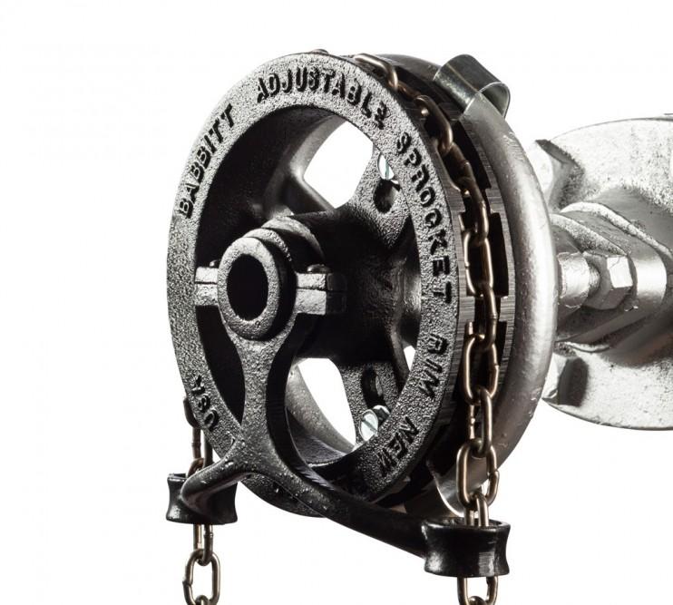 Pocketwheel Babbitt Chainwheels